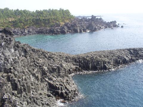 #주상절리대 #바다 #제주섬 #자연경관 #푸른제주바다