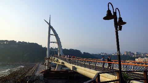 서귀포항에서 새섬으로 연결되는 새연교<br>#새연교 #새섬 #서귀포항