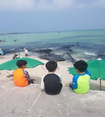 #여름#제주#한달살기#금능해수욕장
