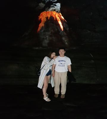 #만장굴 #동굴 #용암 흐른자국이 가득했던 만장굴<br>20도가 넘는 날씨지만 동굴안은 아직 추웠던..ㅎㅎ