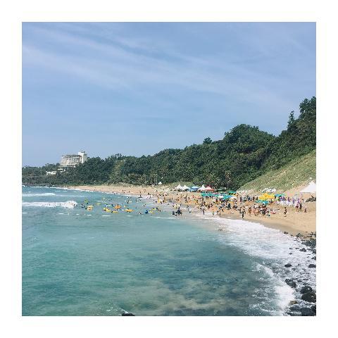 #제주살이 #중문해수욕장 #제주여름 #제주해변 #제주도
