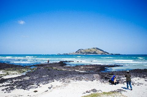 아이와 함께 시원하고 푸른 바다가 보이는 곳으로~ 청량함이 시원하다~
