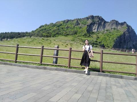 그날 날씨가 좋아서 풍경이 진짜 아름답다 ,그리고 거기에서 해녀쇼를 볼 수 있다!!!