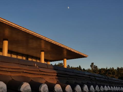 This museum was designed by renowned architect Ando Tadao.